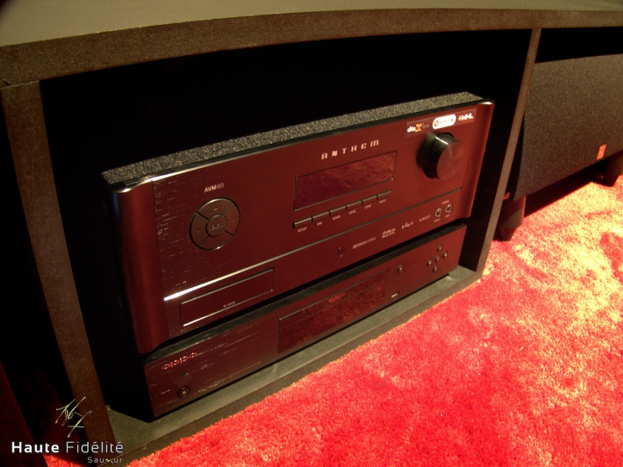 hfs 3100 anthemAVM60 Dali rubicon sony vw270es