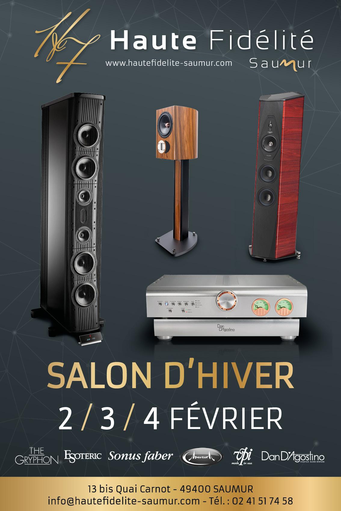 Salon d 39 hiver chez haute fid lit saumur en f vrier for Haute fidelite
